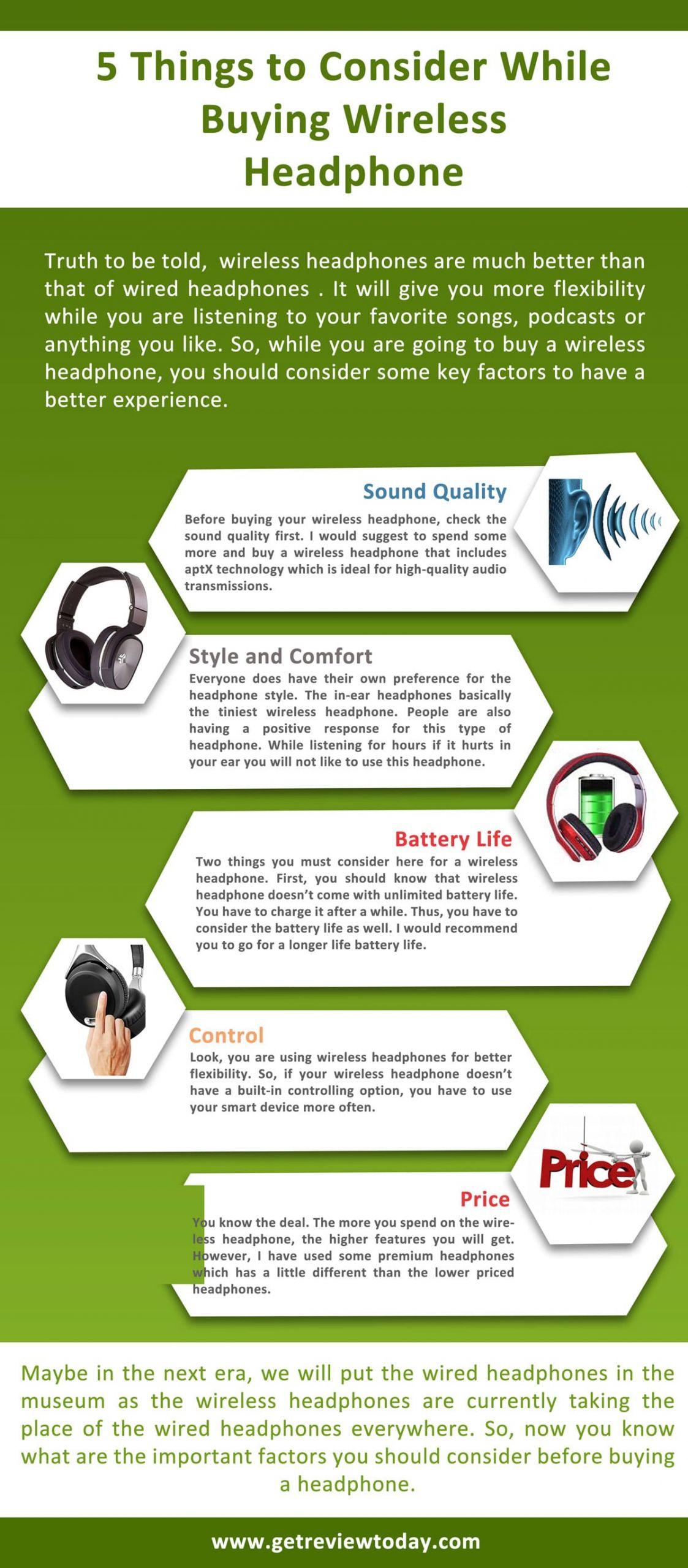 5 Things to Consider While Buying Wireless Headphone