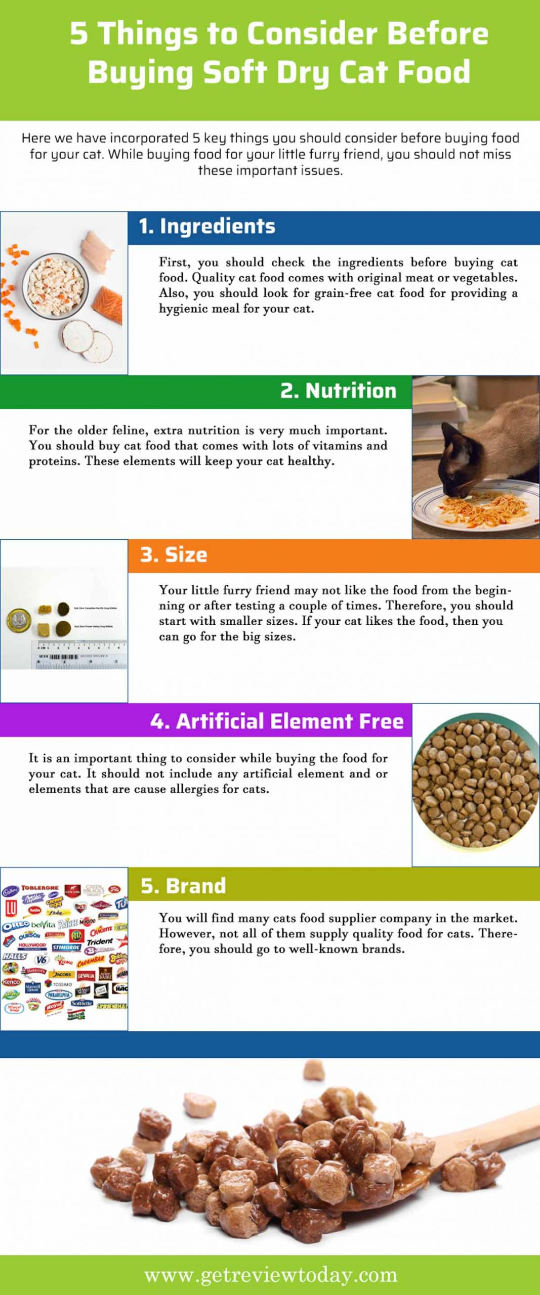 5 Things to Consider Before Buying Soft Dry Cat Food