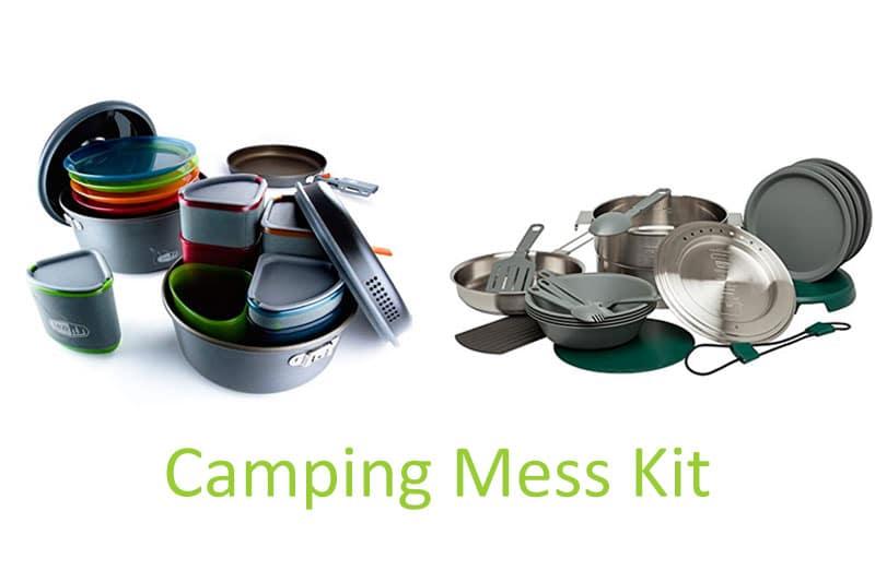 camping mess kit
