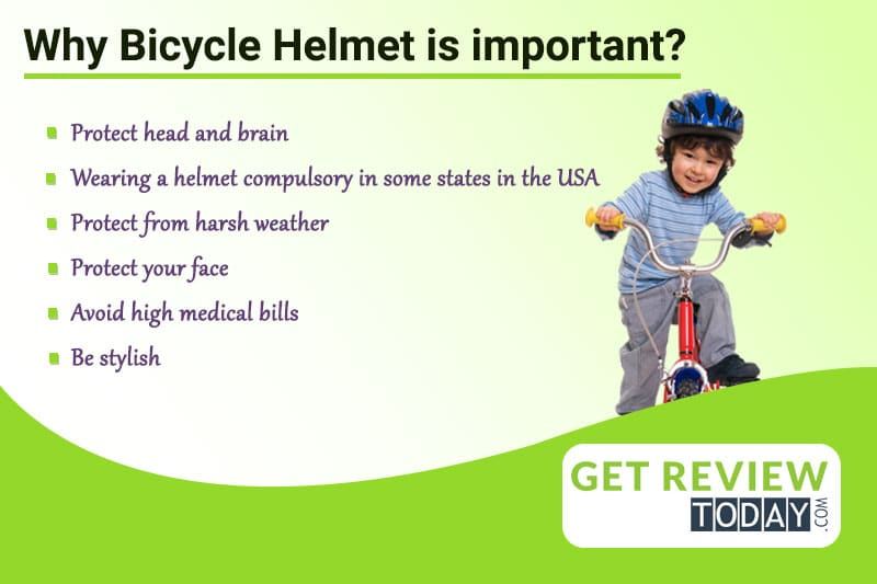 Why bicycle helmet is important?