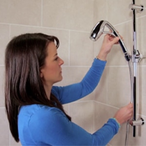 Installing an Adjustable Shower Head