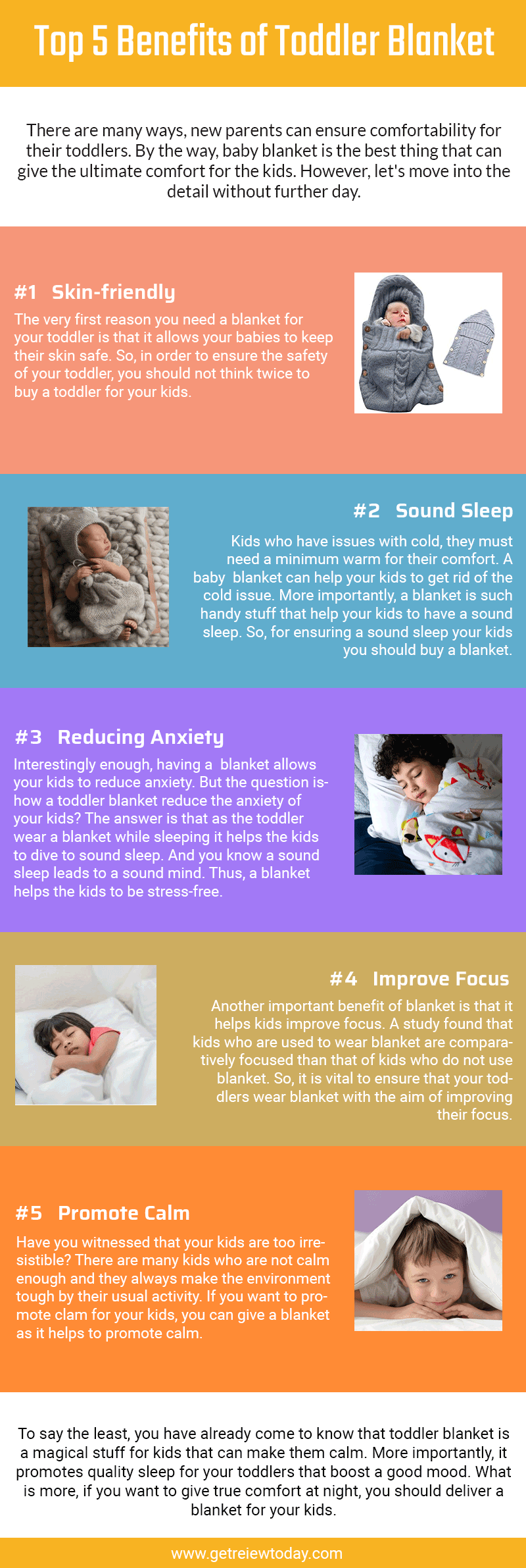 Top 5 Benefits of Toddler Blanket