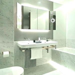 good light in bathroom