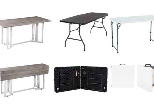 foldable dining tables for small spaces