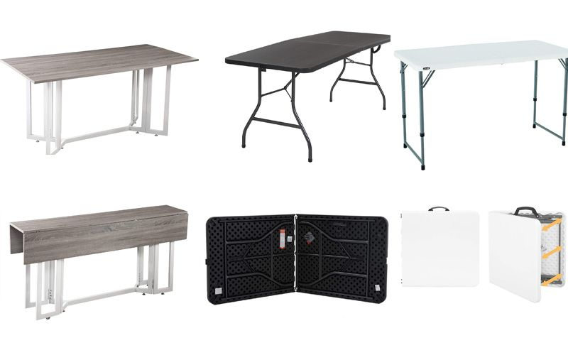 Best Foldable Dining Tables For Small Spaces 2020 A Complete Guide