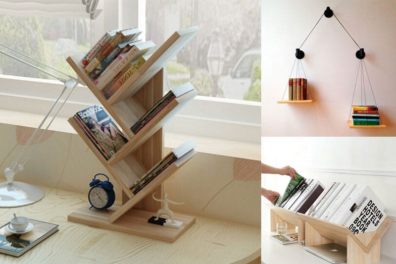 Bookshelf-for-Small-Spaces