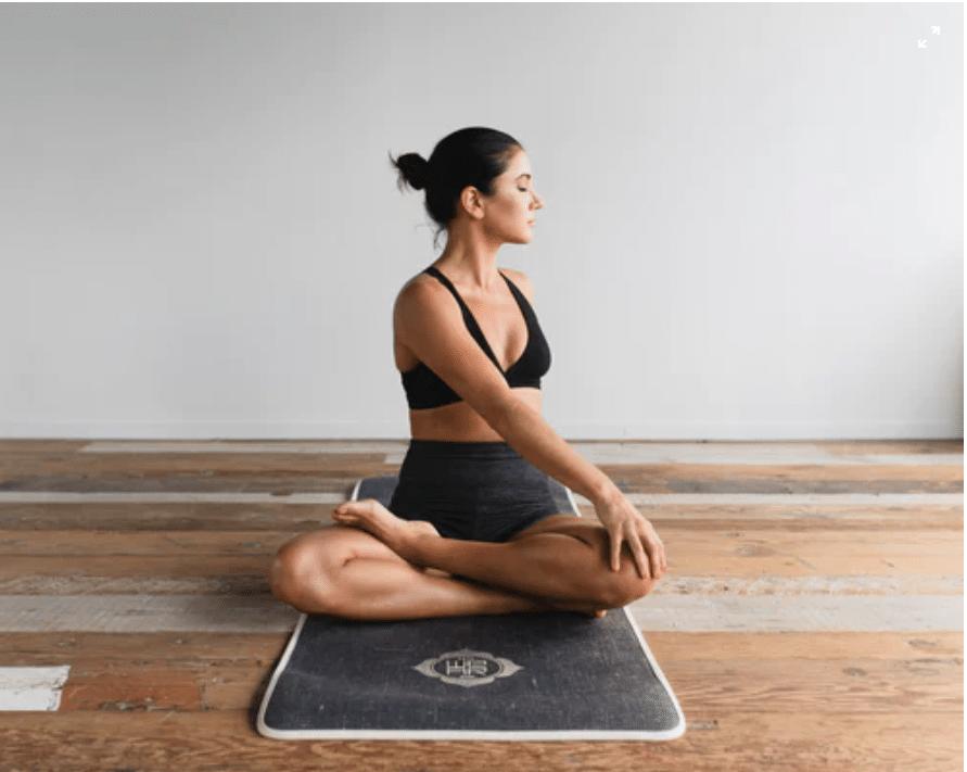 Between a Yoga Mat and an Exercise Mat