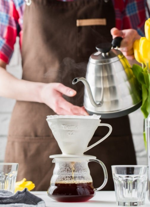 different types of kettles