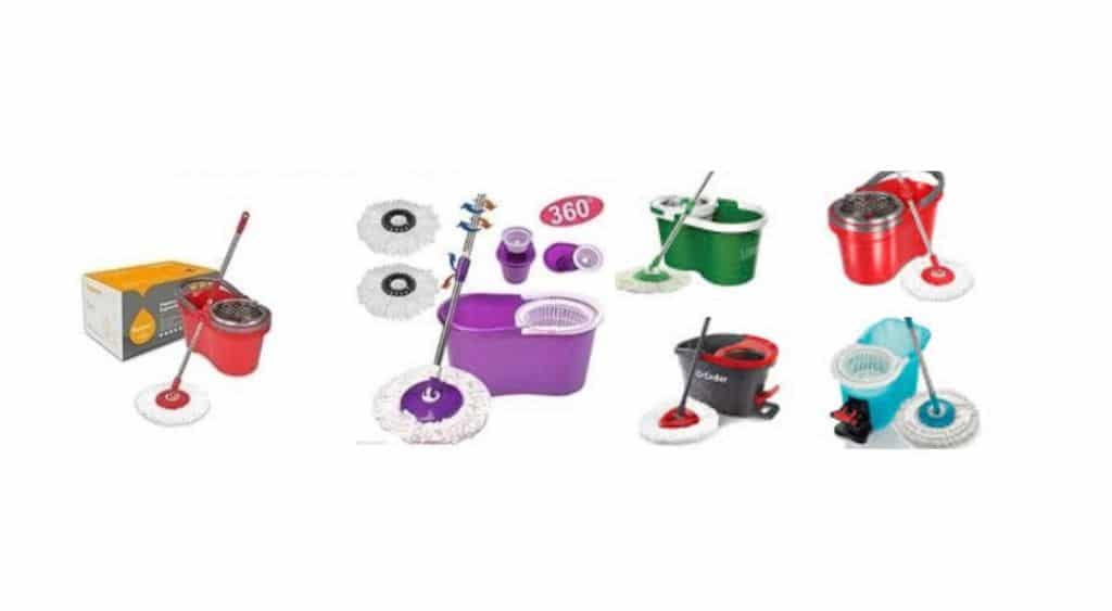 Types of Spin Mops