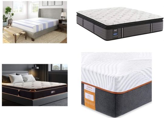 types of memory foam mattress