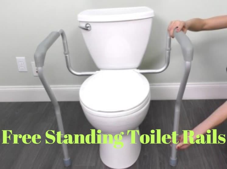 Free Standing Toilet Rails