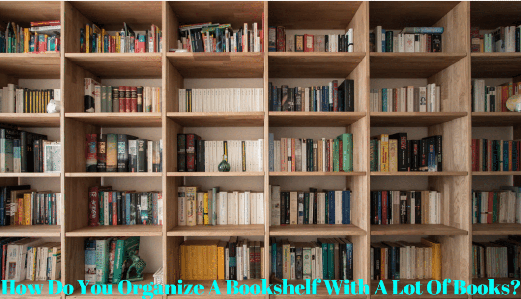 How Do You Organize A Bookshelf With A Lot Of Books?