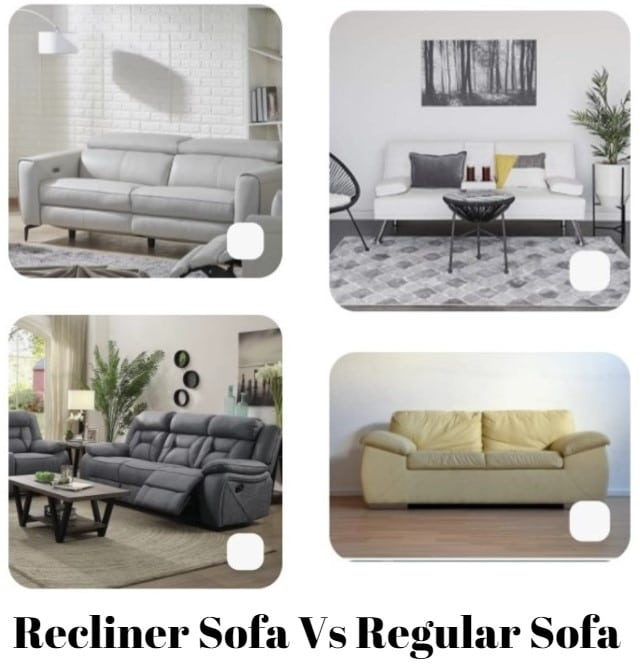 Recliner Sofa Vs Regular Sofa
