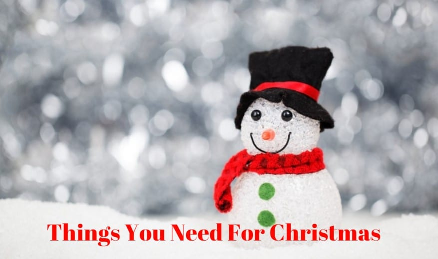 Things You Need For Christmas