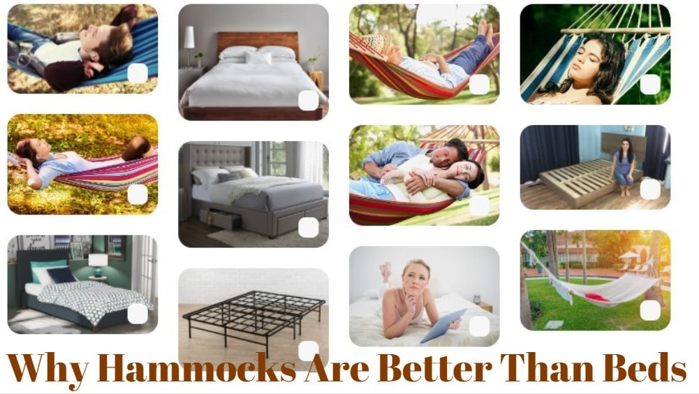 Why hammocks are better than beds