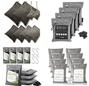 best bamboo charcoal air purifier bags