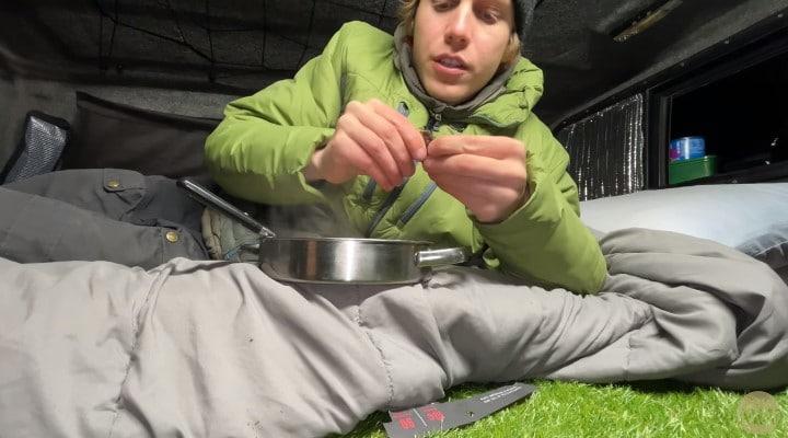 warmest blanket for camping