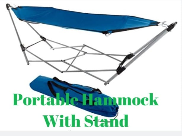 Adventuridge Portable Hammock With Stand