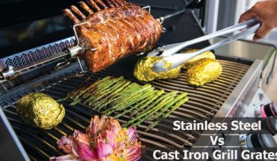 Stainless Steel vs Cast Iron Grates