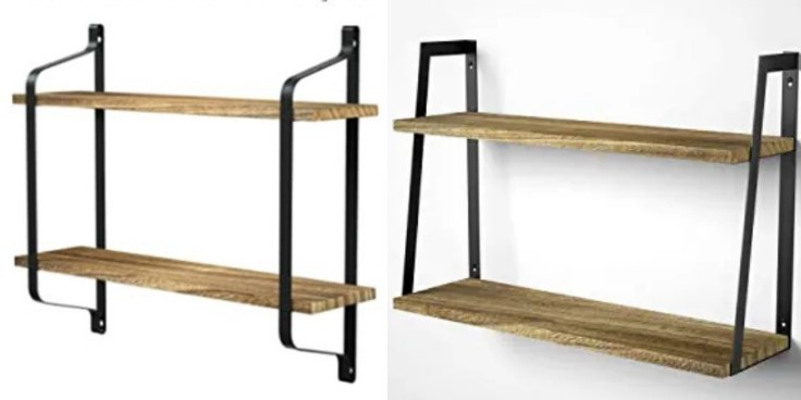 How much weight can a floating shelf hold